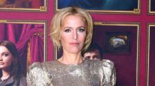 """Gillian Anderson says it would """"be the end"""" of her relationship with playwright partner if they lived together"""