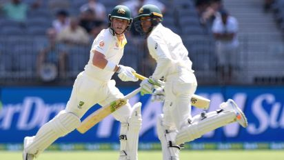 Usman Khawaja not worried by lean run with bat