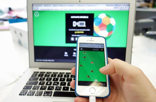Chrome's latest experiment is three soccer mini-games with a samba beat
