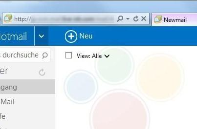 Metro-style Hotmail turns up in leaked screenshots