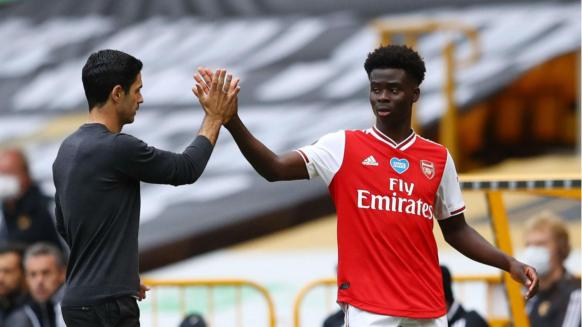 Arteta: More to come from Saka after maiden Premier League strike