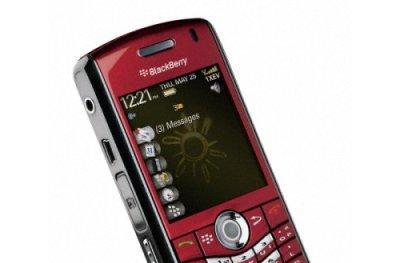 BlackBerry Pearl 8130 spotted in red on Sprint