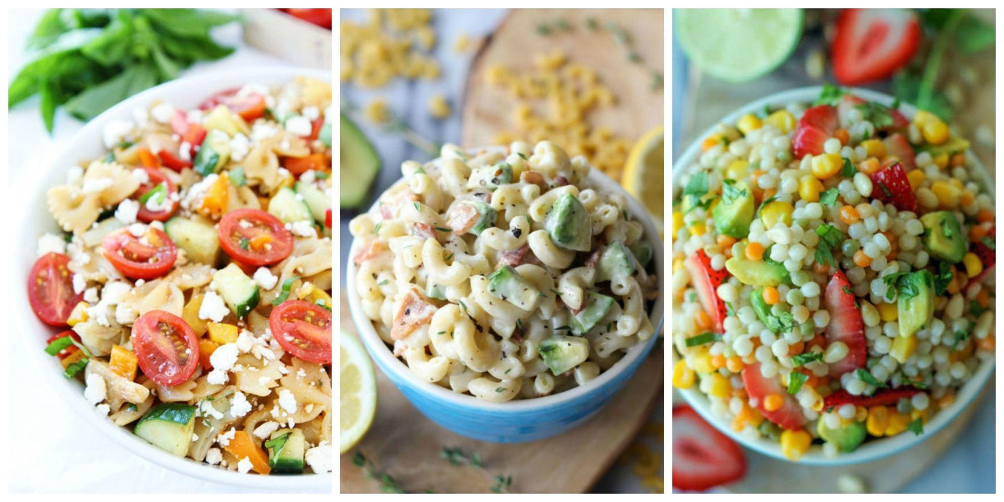 55 pasta salad recipes you need to bring to your summer for Salas ideas