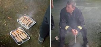 Rescued piglets given to firemen as sausages