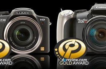 Panasonic FZ35 and Canon SX20 IS superzoom cameras shoot it out in group test, rise to the top
