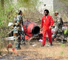 Indian air force planes collide in air show rehearsal, one pilot dead