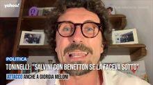 """Toninelli: """"Salvini con Benetton se la faceva sotto"""""""