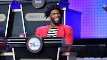 Joel Embiid was as delighted as the rest of us by Kevin Durant's burner Twitter drama