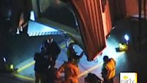 LAX jet bridge collapse injures two