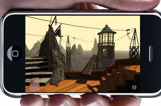 Myst 'demo' free on iPhone