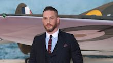 Tom Hardy helps to re-home puppies abandoned in a London park