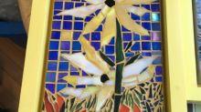 In case of emergency, break glass: N.L. woman creates mosaic art