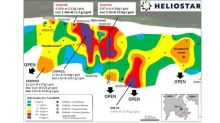 Heliostar Drills 8.32 g/t Gold over 5.52 Metres and 5.13 g/t over 4.42 Metres to Expand the SH-1 Zone at the Unga Project, Alaska