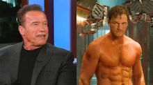 The odd way Chris Pratt won over father-in-law Arnold Schwarzenegger