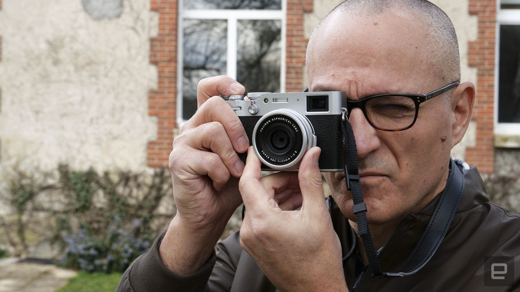 Fujifilm X100V compact fixed-lens camera