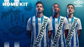 Huddersfield 'release' horrendous Paddy Power kit