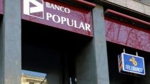 Banco Popular se desploma en la Bolsa de Madrid