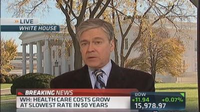 WH: Health care costs grow at slowest rate in 50 years