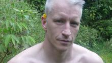 Fans Are Going Wild Over These Shirtless Photos of Anderson Cooper, Posted By Andy Cohen