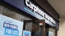 Dixons Carphone profits hit by smartphone slump