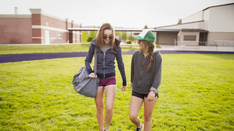 Texas high school causes outrage with dress code video targeting female students in athletic shorts