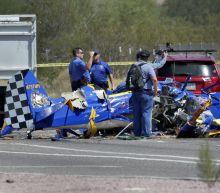 Small plane crashes on Phoenix street; pilot, passenger dead