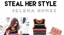 Steal her style: Der coole Streifen und Denim Look von Selena Gomez