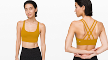 'This bra has never disappointed me!': Lululemon's bestseller is backed by more than 2,300 reviews