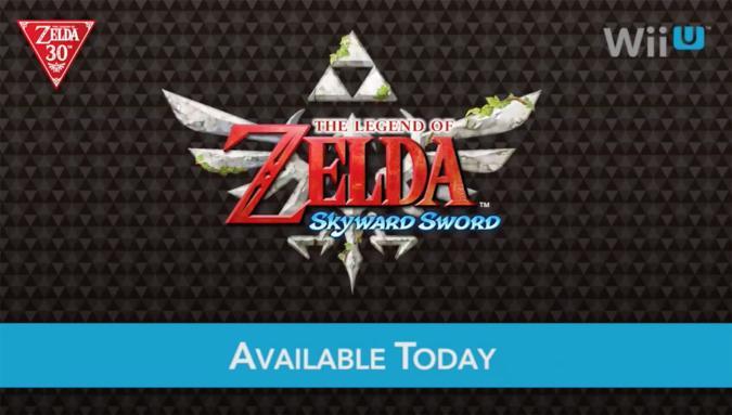 Play 'The Legend of Zelda: Skyward Sword' on Wii U today
