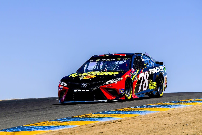 NASCAR Sonoma: Martin Truex Jr wins road course race
