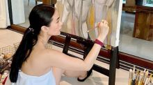 Heart Evangelista sells painting for charity