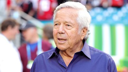 Prosecutors drop charge against Pats owner Kraft