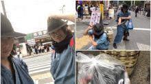 【新片速報】日本武士執垃圾表演 超有效率網民大讚