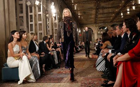 Designer Ralph Lauren Marks 50th Anniversary With Central Park Fashion Gala