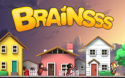 Play as a rampaging zombie in Lonely Few's debut iOS title, Brainsss