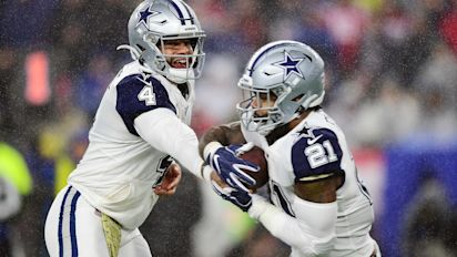 Dak says Zeke is in 'the best shape of his life'