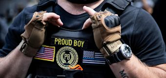 Proud Boys will 'stand back, stand by' for Trump
