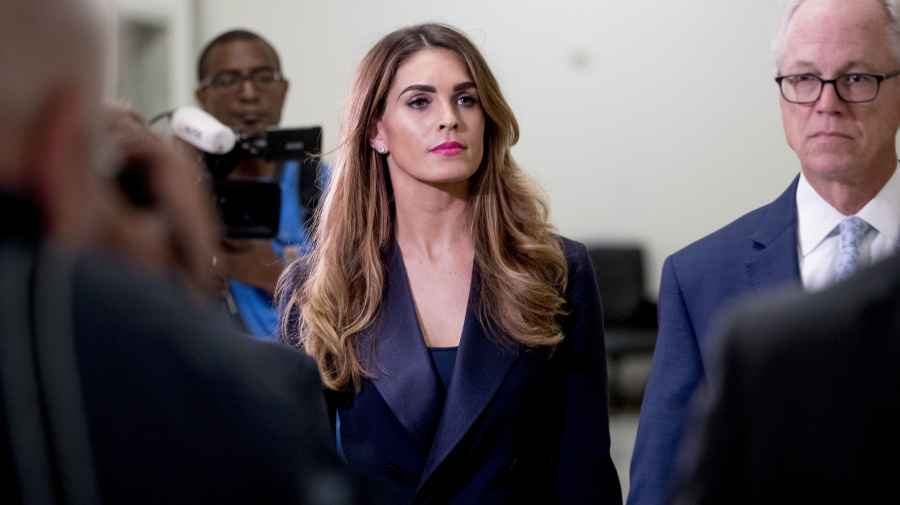 Hope Hicks refuses to answer questions: Dems