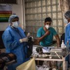 Coronavirus news - live: India adds over 414,000 new Covid cases as more states impose lockdowns