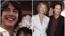 Keanu Reeves y su mala suerte en el amor: repasamos su historial sentimental