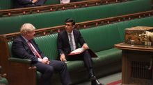 UK's Sunak says will start to fix budget deficit once outlook clearer