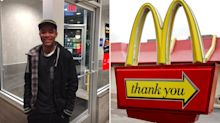 McDonald's worker's selfless act for customer who forgot wallet