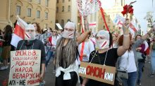 Tens of thousands join Belarus march against Lukashenko