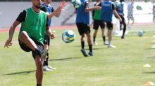 Foot - L1 - Angers - Rachid Alioui (Angers) en phase de reprise