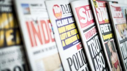 As we go into this election, remember the British press is the most right-wing in Europe