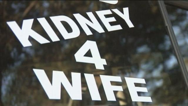 Man Finds Kidney For Wife With Signs