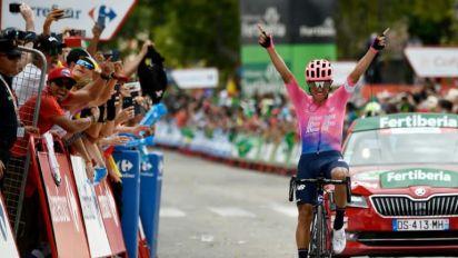Sergio Higuita gana 18ª etapa de la Vuelta a España, Roglic sigue líder