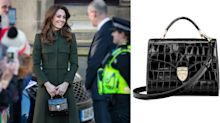 Kate Middleton steps out with her go-to mini bag — here's how to shop it