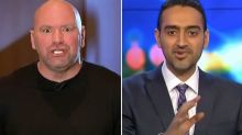 'Trying to be an a**hole': Dana White slams Waleed Aly again