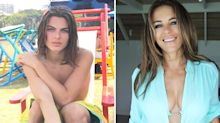 Elizabeth Hurley's son Damian, 16, bears an uncanny resemblance to his mother